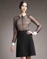 Valentino Compact A-Line Skirt