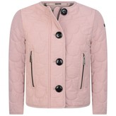 Burberry BurberryGirls Pink Scallop Quilted Jacket