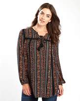 Joe Browns Winter Floral Gypsy Blouse