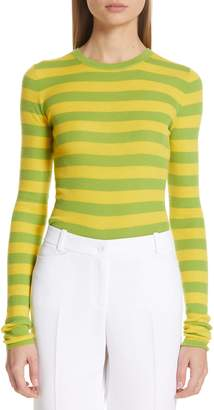 Michael Kors Stripe Cashmere Sweater