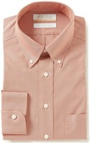 Roundtree & Yorke Gold Label Non-Iron Full-Fit Button-Down Collar Printed Dress Shirt