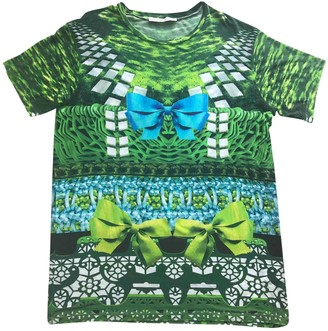 Mary Katrantzou Green Cotton Top for Women