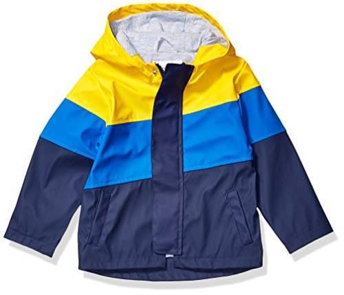 Brand Spotted Zebra Boys Toddler /& Kids Rain Coat Jacket