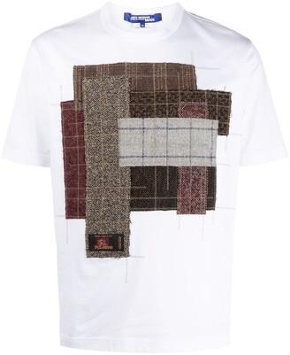 Junya Watanabe mixed-panel T-shirt
