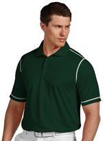 Antigua Men's Icon Desert-Dry Tonal-Striped Performance Easy-Care Polo