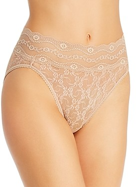B.Tempt'd Lace Kiss High-Leg Briefs