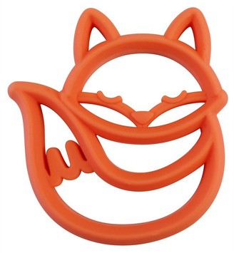 Itzy Ritzy Teething Happens Silicone Teether - Fox