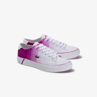 Lacoste Women's Gripshot Textile and Leather Sneakers