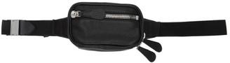 Maison Margiela Black Leather Belt Bag