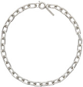 Thumbnail for your product : Dries Van Noten Silver Chain Link Necklace