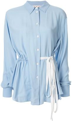 Marni Drawstring Waist Shirt