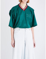 Martine Rose Football Oversized Sports-mesh Top