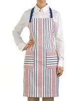 Martha Stewart Apron Red White Blue 100% Cotton 4th Of July Independence Day