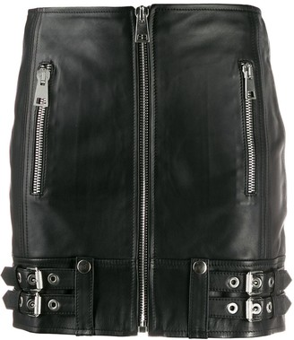Manokhi Zipped Mini Skirt