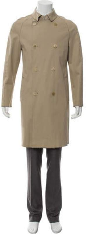 Burberry Double-Breasted Coat tan Double-Breasted Coat