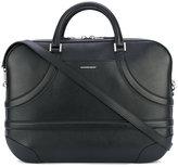 Alexander McQueen harness briefcase - men - Calf Leather - One Size