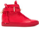 Buscemi 100MM Leather Alta