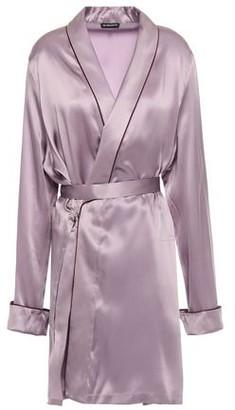 Ann Demeulemeester Silk-satin Robe