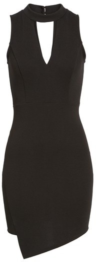 Soprano Women's Asymmetrical Body-Con Dress