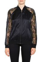 Opening Ceremony Lace Bomber Jacket