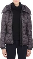 """Moncler Honeycomb-Pattern Quilted Hooded """"Gres"""" Jacket"""