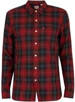 Levi's Men's Sunset 1 Pocket Shirt, Red