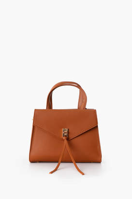 Urban Expressions Bella Vegan Leather Flap Bag