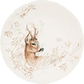 Gien Sologne Deer Dessert Plate (23Cm)