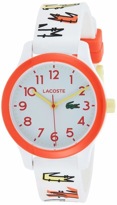 Lacoste Unisex-Child Analogue Quartz Watch with Silicone Strap 2030018