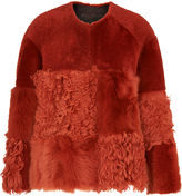 Whistles Hemmingway Sheepskin Jacket