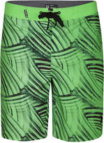 "Hurley Men's Phantom Crest Striped 20"" Boardshorts"