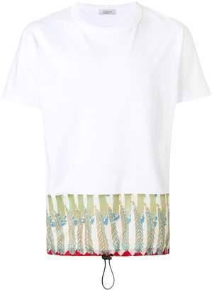 Valentino contrast panel T-shirt