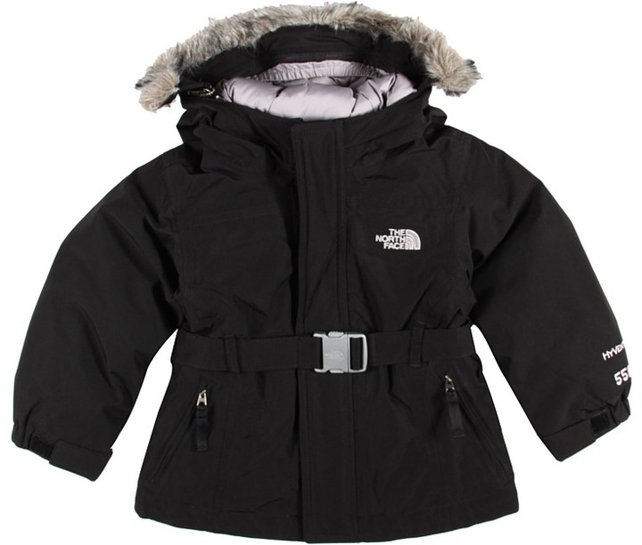 The North Face Kids - Girls' Greenland Jacket (Toddler) (TNF Black) - Apparel
