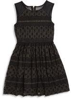 Ella Moss Girl's Isla Lace Fit-&-Flare Dress