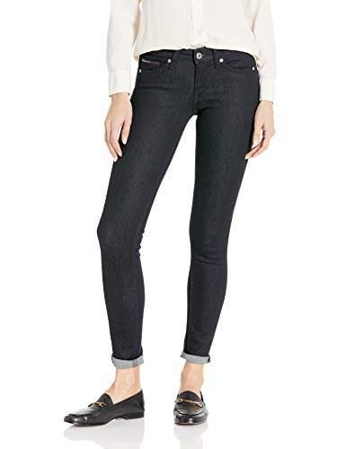 706167b38 Tommy Hilfiger Blue Women's Stretch Jeans - ShopStyle