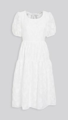 Moon River Babydoll Dress