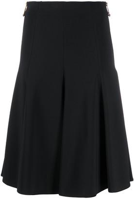 Versace flared A-line midi skirt