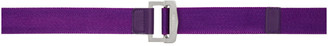 Ambush Purple Buckle Belt
