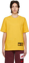 Thumbnail for your product : SSENSE WORKS SSENSE Exclusive 88rising Yellow 'Double Happiness' T-Shirt