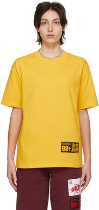 SSENSE WORKS SSENSE Exclusive 88rising Yellow 'Double Happiness' T-Shirt
