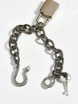 Free People Snake Lock Chain Bracelet