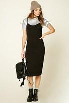 Forever 21 FOREVER 21+ Stripe Combo Midi Dress