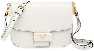 Prada Embleme Saffiano leather shoulder bag
