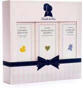 Noodle & Boo 3-Pack Starter Baby Bath Kit, 8 fl. oz.