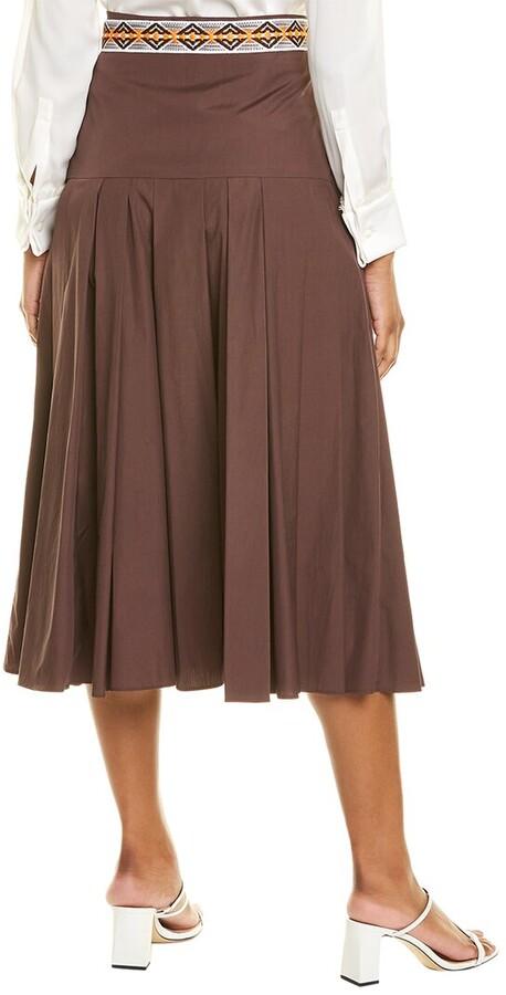 Thumbnail for your product : Max Mara Erica Midi Skirt