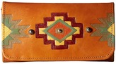 American West Adobe Allure Trifold Wallet Wallet Handbags