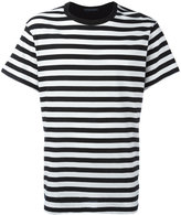 Yohji Yamamoto striped T-shirt - men - Cotton/Rayon - 3