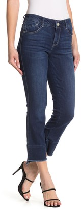 Democracy Absolution Luxe Touch Premium Fray Hem Skinny Jeans