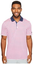 adidas Club Merch Stripe Polo Men's Short Sleeve Pullover
