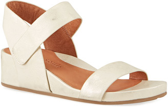 Gentle Souls Gisele Two Band Leather Sandals